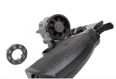 Пневматичний Револьвер Diana Raptor. Довжина стовбура - 6 дюймів. 3770314
