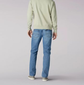 Чоловічі джинси Lee Regular Fit — Vintage Stone Блакитні (2009023)