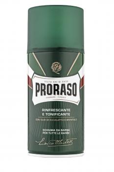 Освежающая и тонизирующая пена для бритья Proraso 300 мл (8004395001927)