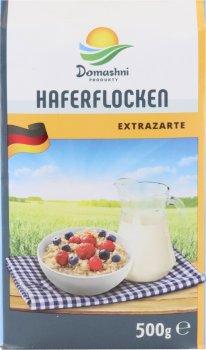 Пластівці Домашні продукти Вівсяні Haferflocken 500 г (4001507161979)