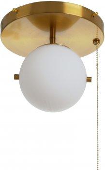 Світильник настінно-стельовий Brille BL-859C/1 E27 BZ (23-939)