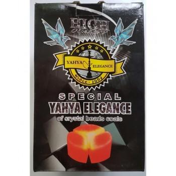 Вугілля кокосовий для кальяну Yahya Elegant 1кг під калауд