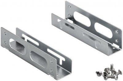 Деталь монтажна Lucom Монтажна рама (HDD) 3.5-5.25 салазки HDDпанель металік(25.02.5039)