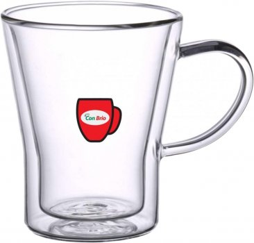 Набор чашек Con Brio с двойным дном 6 шт 280 мл (CB-8528)