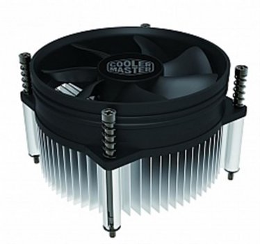 Кулер процесорний Cooler Master i50 (RH-I50-20PK-R1), Intel:1156/1155/1151/1150, 95x95x60, 4-pin