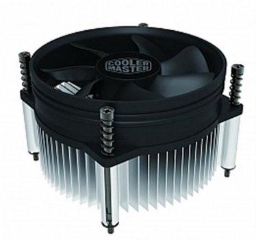 Кулер процесорний Cooler Master i30 (RH-I30-26PK-R1), Intel:1156/1155/1151/1150, 95x95x55, 3-pin