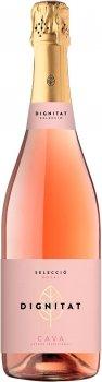 Вино игристое Dignitat Cava розовое брют 0.75 л 11.5% (8410644620380)