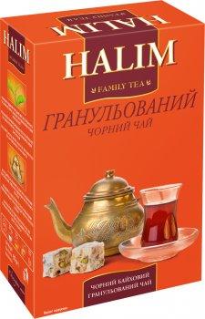 Упаковка черного чая Halim гранулированного 4 пачки по 80 г (4820229040313)
