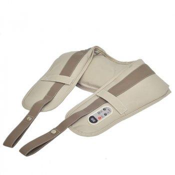 Вибромассажер Cervical Massage Shawls для спины плеч шеи поясницы ударный кулачковый