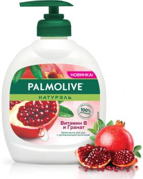 Жидкое крем-мыло для рук Palmolive Натурэль Витамин B и Гранат 300 мл (8718951301054)