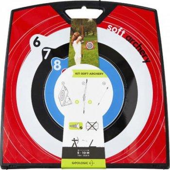 Набор для Стрельбы из Лука GEOLOGIC (1 лук + 2 стрелы с присосками + 1 мишень)