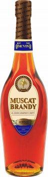 Напиток алкогольный OK'VIN Muscat Brandy 0.25 л 35% (4820013376352)