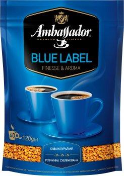 Кава розчинна Ambassador Blue Label 120 г (8719325127485)