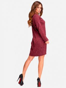 Платье ISSA PLUS 11074 Бордовое