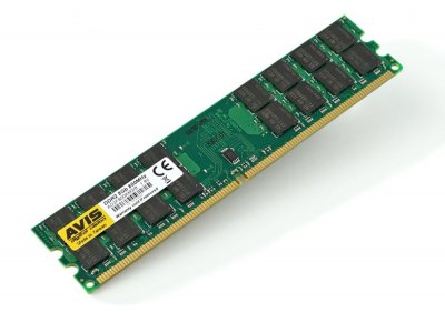 Оперативна пам'ять DDR2-800 8Gb для AMD систем PC2-6400 AVIS AD2F800AM2/8 8192MB (770008647)