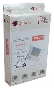 Багаторазовий мішок Filter Systems FST 0202 для пилососів Rowеntа серії Dymbo