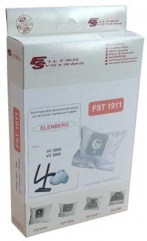 Багаторазовий мішок Filter Systems FST 1911 для пилососів ELENBERG моделі: VC 2002, VC 2004