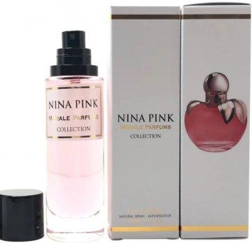 Парфюмированная вода для женщин Мораль Парфюм Nina Pink версия Nina Ricci Nina 30 мл (3713754983198)