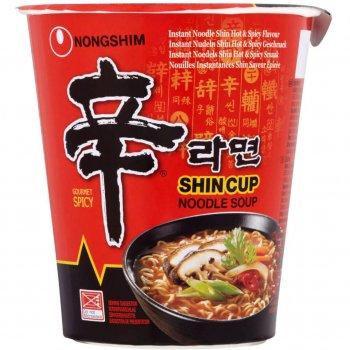 Суп Шин Рамен в склянці гострий Nongshim 68г