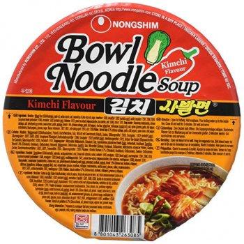Суп рамен Кимчи в тарілці Nongshim 86г