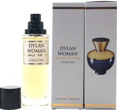 Парфюмированная вода для женщин Мораль Парфюм Dylan Woman версия Versace Dylan Blue Pour Femme 30 мл (3729630587411)