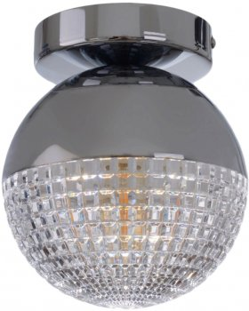 Світильник настінно-стельовий Brille BL-825С/1 E14 G (23-873)