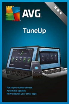 AVG TuneUp 1 ПК на 2 года (электронная лицензия) (AVG-TUp-1-2Y)