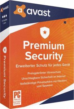 Антивірус Avast Premium Security for Windows 1 ПК на 3 роки (електронна ліцензія) (AVAST-PSW-1-3Y)