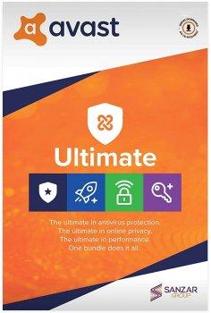 Антивірус Avast Ultimate 1 ПК на 1 рік (електронна ліцензія) (AVAST-UL-1-1Y)