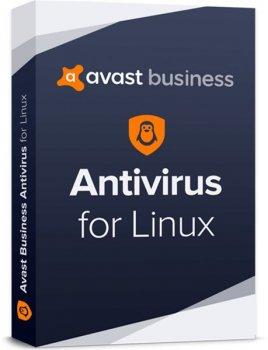 Антивірус Avast Business Antivirus for Linux 5-19 ПК на 3 роки (електронна ліцензія) (AVAST-BAL-(5-19)-3Y)