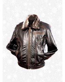 Куртка шкіряна чоловіча Verona _2 -48 Коричневий