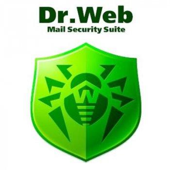 Антивірус Dr. Web Mail Security Suite+ ЦУ/ Антиспам 15 ПК 2 роки ел. ліц. (LBP-AC-24M-15-A3)