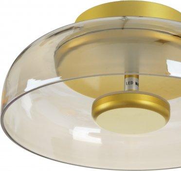 Світильник настінно-стельовий Brille BL-823С/7W WW G (23-869)