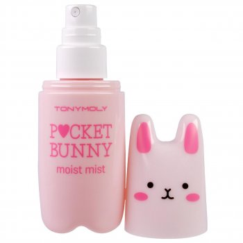 Увлажняющий мист для лица Tony Moly New Pocket Pink Bunny Mist Moisture 60 мл (10221218)