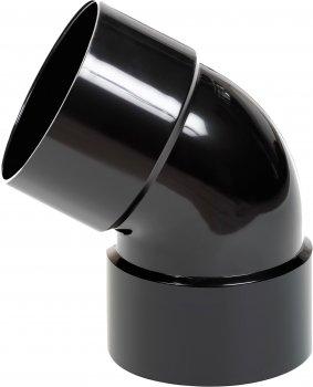 Коліно дворозтрубне Profil 75 Чорне (5906775639641)