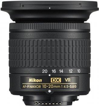 Nikon AF-P DX Nikkor 10-20 mm f/4.5-5.6G VR (JAA832DA) Офіційна гарантія!