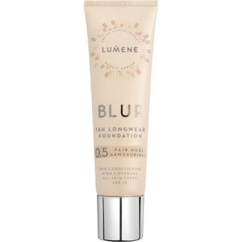 Стойкая тональная основа Lumene Blur Longwear Foundation SPF15 Fair Nude 0.5