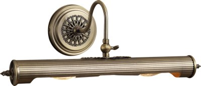 Картинна підсвітка Altalusse INL-6133W-02 Antique brass E14 2x40 Вт