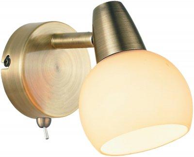 Светильник спотовый Altalusse INL-9333W-01 Antique brass Е14 1x40 Вт