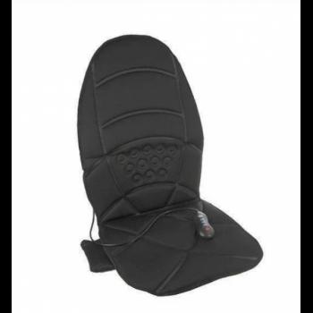 Универсальная массажная накидка с подогревом для дома авто офиса UKC Massage Robot Cushion Classic PRO Черный (1-01081)