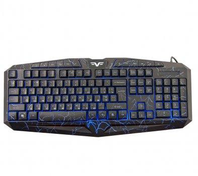 Клавіатура Frime Magma Black USB RUS/UKR (FLK19500)