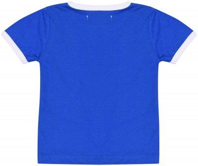 Футболка Minoti 1Tring 2 13027 Синяя (до 98 см)