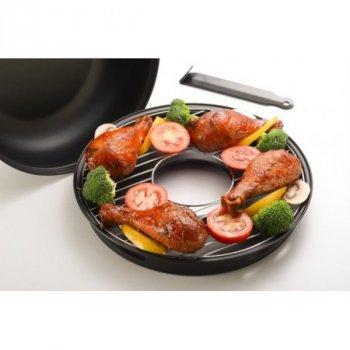 Сковород-гриль емальована Гриль-Газ А-Плюс 33 см