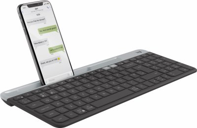Клавиатура беспроводная Logitech K580 Slim Multi-Device Wireless Graphite (920-009275)