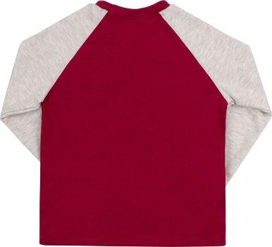 Свитшот Бемби ФБ708 Красный с серым (от 104 до 110 см)