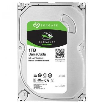 Жорсткий диск Seagate Barracuda - Festplatte - 1 TB - intern - 3.5 (ST1000DM010) Refurbished