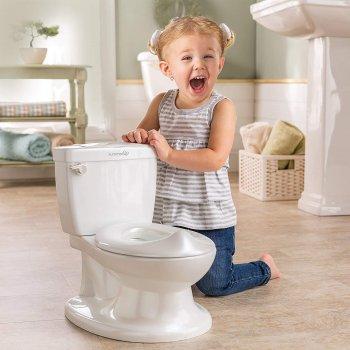 Горшок - унитаз детский Summer Infant My Size Potty Белый 10 л (11526С)