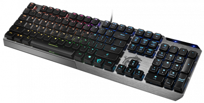 Клавіатура дротова MSI Vigor GK50 Low Profile USB UA