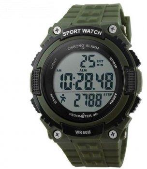 Чоловічий годинник Skmei 1112 Army Green BOX (1112BOXAG)