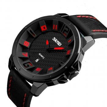 Мужские часы Skmei 9150 BK-Red BOX (9150BOXBKR)